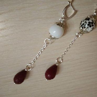 Decorations handmade. Livemaster - original item earrings: And I`m.... Handmade.
