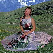 Одежда ручной работы. Ярмарка Мастеров - ручная работа платье №2. Handmade.