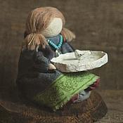 """Куклы и игрушки ручной работы. Ярмарка Мастеров - ручная работа Кукла-образ """"...гадание по птичей лапке"""".. Handmade."""