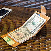 Сумки и аксессуары handmade. Livemaster - original item Standart money clip (sand, brown, black, red). Handmade.