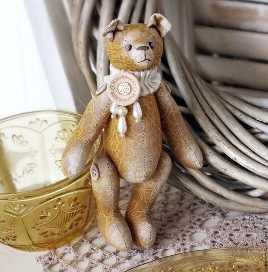 """Мишки Тедди ручной работы. Ярмарка Мастеров - ручная работа. Купить Мини-мишка """"Орнелло"""". Handmade. Мишка, интерьерная игрушка"""