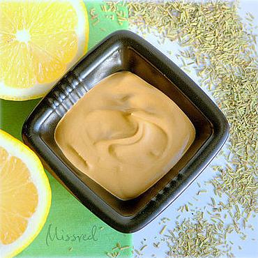 """Косметика ручной работы. Ярмарка Мастеров - ручная работа Маска для жирной, комбинированной кожи """"Lemon & Rosemary"""". Handmade."""