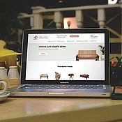 Дизайн ручной работы. Ярмарка Мастеров - ручная работа Дизайн: Сайт для мебельной фирмы. Handmade.