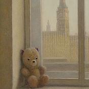 """Картины и панно handmade. Livemaster - original item Купить постеры недорого """"Мечты о Лондоне. Биг Бэн"""". Handmade."""