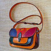 Сумки и аксессуары handmade. Livemaster - original item Multi-colored adult handbag - 3). Handmade.
