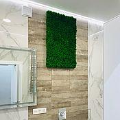 Картины и панно handmade. Livemaster - original item Fotopanno of stabilized moss. Handmade.