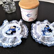 Сувениры и подарки handmade. Livemaster - original item VINTAGE EDGE-textile cover. Handmade.