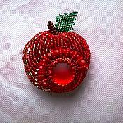 """Украшения ручной работы. Ярмарка Мастеров - ручная работа Брошь, кулон """" Наливное яблочко"""". Handmade."""