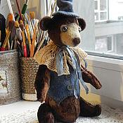 Куклы и игрушки ручной работы. Ярмарка Мастеров - ручная работа Мишка Жорж.. Handmade.