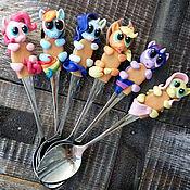 Посуда handmade. Livemaster - original item Teaspoons Ponies. Handmade.