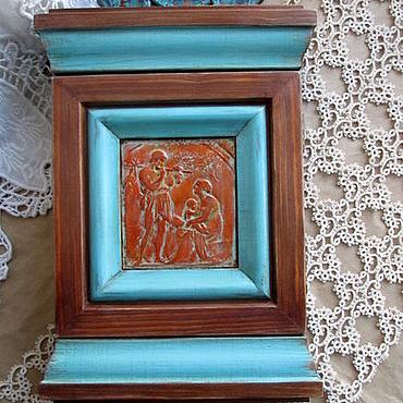 For home and interior handmade. Livemaster - original item The housekeeper wall. Handmade.