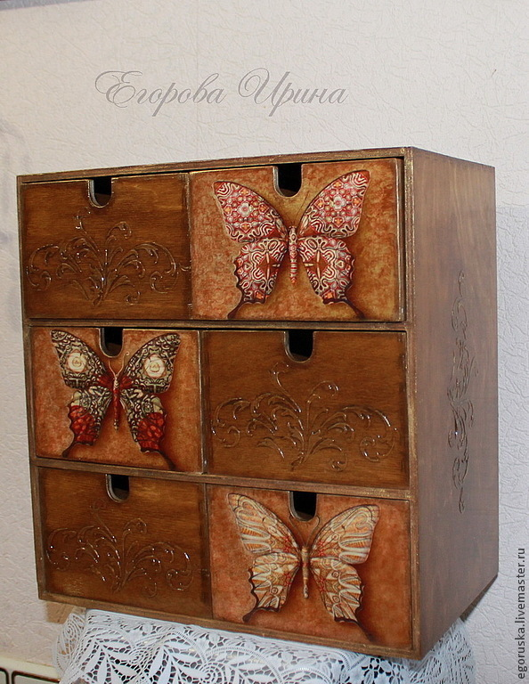 Mini dresser Butterfly, Mini Dressers, Moscow,  Фото №1