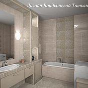 Дизайн и реклама ручной работы. Ярмарка Мастеров - ручная работа Ванная комната. Handmade.