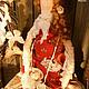 Куклы Тильды ручной работы. Тильда в стиле Бохо: Варварушка интерьерная текстильная кукла. Оксана Фирсова. Ярмарка Мастеров.