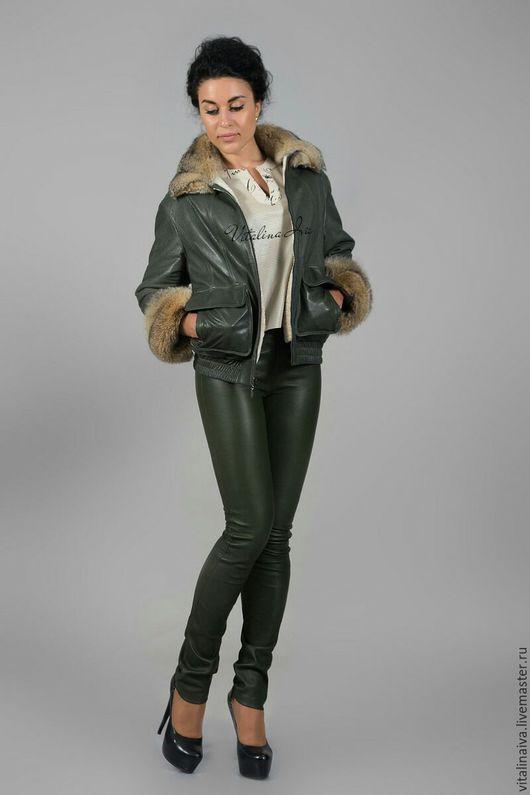 Верхняя одежда ручной работы. Ярмарка Мастеров - ручная работа. Купить Куртка зимняя, двусторонняя Пилот. Handmade. Куртка женская