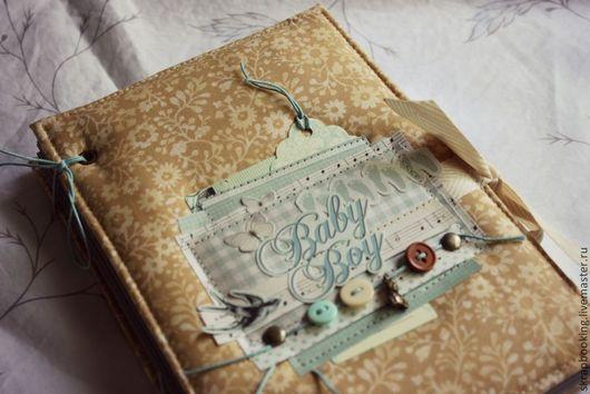 Скрапбукинг дневник для малыша от мастерской скрапбукинга Living History