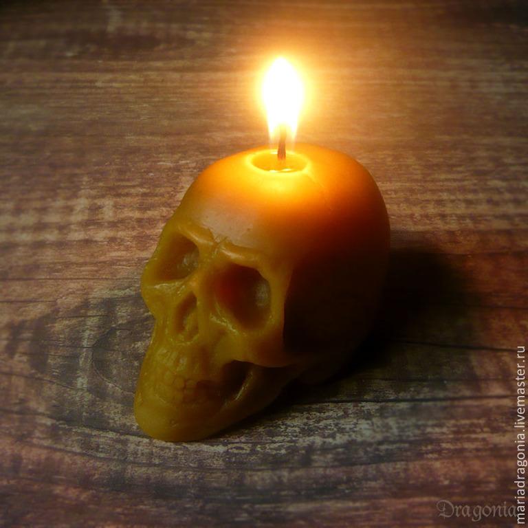 фото свеча восковая