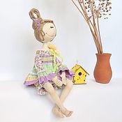 """Куклы и игрушки ручной работы. Ярмарка Мастеров - ручная работа Интерьерная кукла """" Весенние цветы"""". Handmade."""