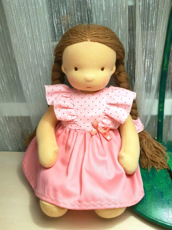 Вальдорфская кукла Мария, Вальдорфские куклы и звери, Москва,  Фото №1