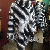 Одежда ручной работы. Ярмарка Мастеров - ручная работа Меховая накидка пончо. Handmade.