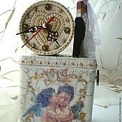 Свадебный салон ручной работы. Ярмарка Мастеров - ручная работа Часы  Жених и Невеста. Handmade.