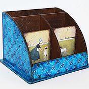 """Канцелярские товары ручной работы. Ярмарка Мастеров - ручная работа """"Голландия"""" набор для рабочего стола.. Handmade."""