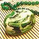 """Мыло ручной работы. Ярмарка Мастеров - ручная работа. Купить Мыльный камень """"Малахит"""". Handmade. Зеленый, подарок на день рождения"""