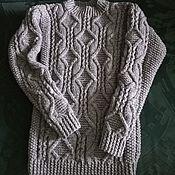 Свитеры ручной работы. Ярмарка Мастеров - ручная работа Свитеры: свитер, джемпер, шарф. Handmade.