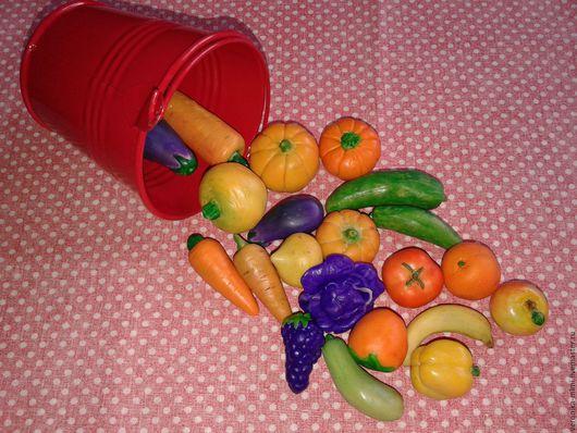 """Развивающие игрушки ручной работы. Ярмарка Мастеров - ручная работа. Купить Сенсорные овощи """"Огород"""". Handmade. Оранжевый, развивайка"""