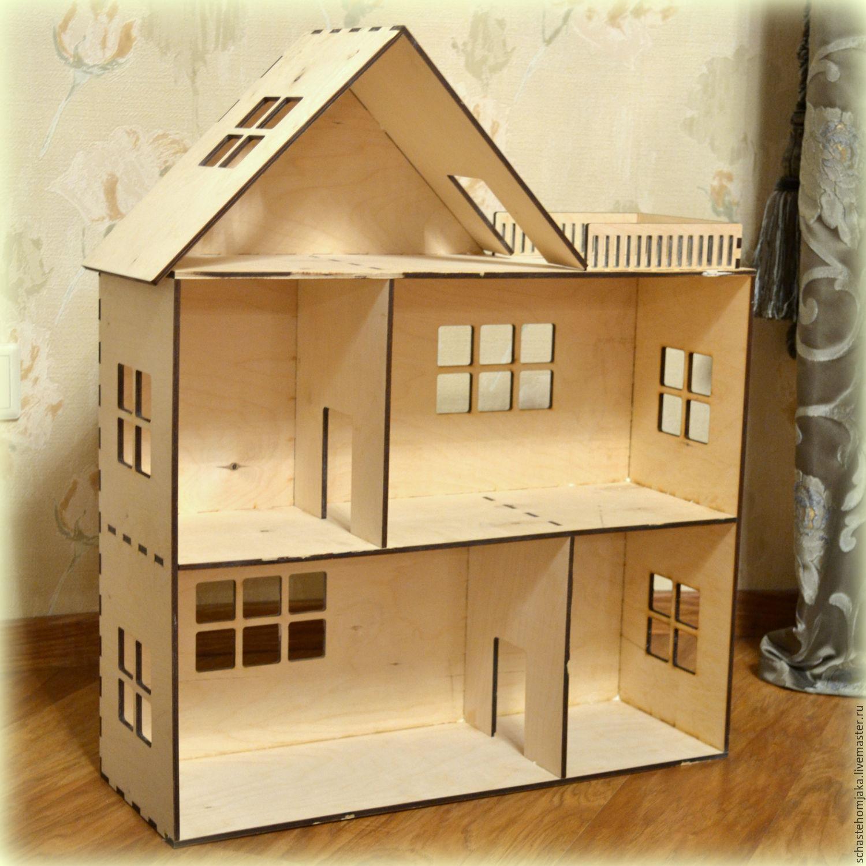 Кукольный домик из фанеры своими 95