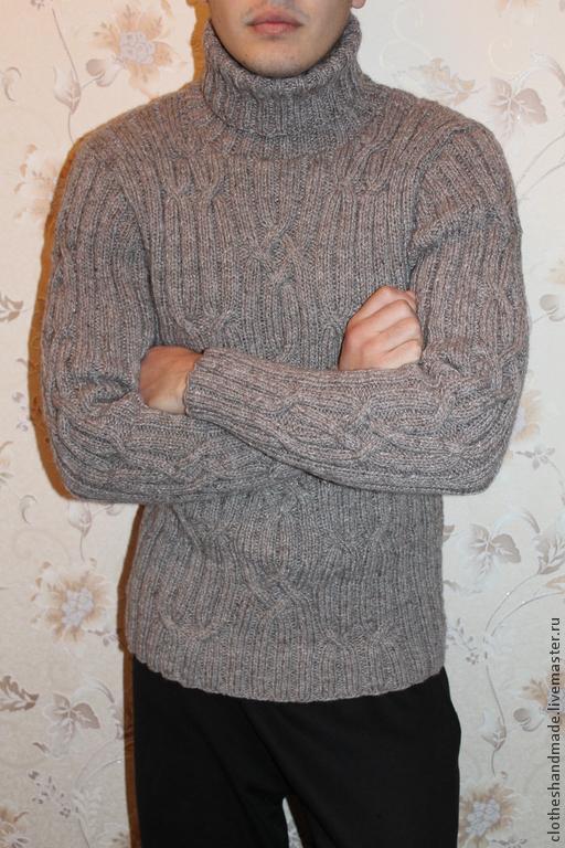 Свитер мужской вязаный – купить в интернет-магазине на ...