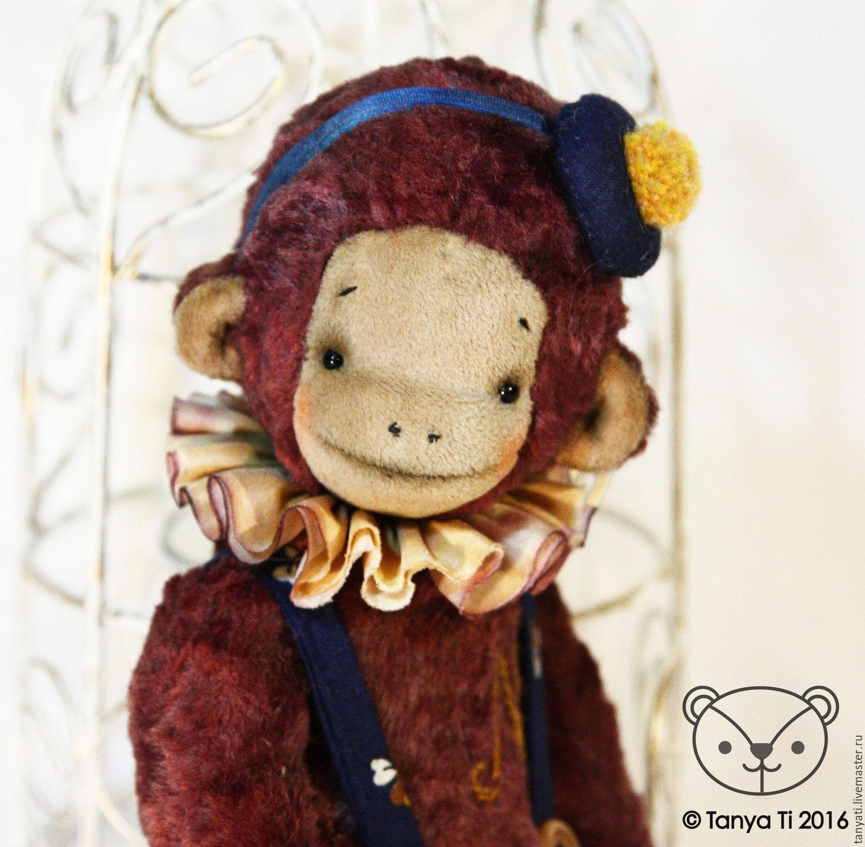 monkey Monet, Stuffed Toys, Krasnogorsk,  Фото №1