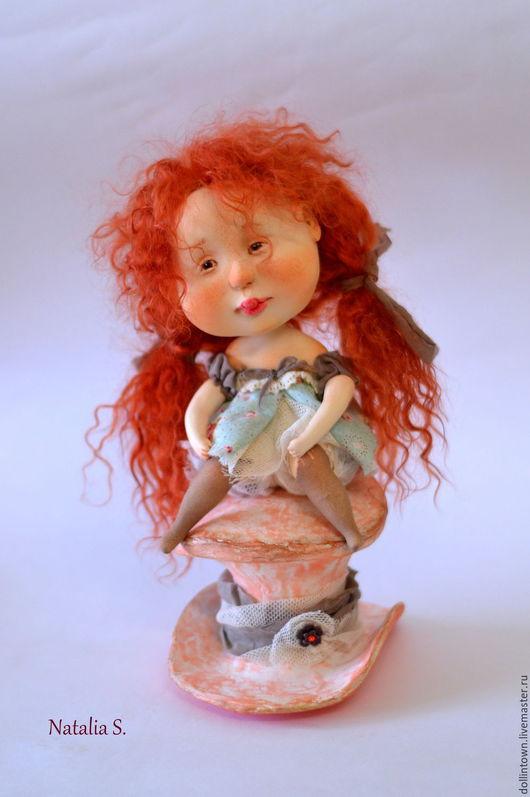Коллекционные куклы ручной работы. Ярмарка Мастеров - ручная работа. Купить Алиса. Handmade. Рыжий, алиса в стране чудес, пастель