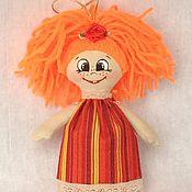 Куклы и игрушки ручной работы. Ярмарка Мастеров - ручная работа Куколка хорошего настроения. Handmade.