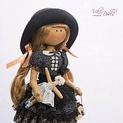 Куклы и игрушки ручной работы. Ярмарка Мастеров - ручная работа Кукла-Тильда Черный Лебедь. Handmade.