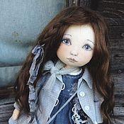 Куклы и игрушки ручной работы. Ярмарка Мастеров - ручная работа Кукла в сером. Handmade.