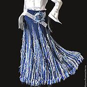 Одежда ручной работы. Ярмарка Мастеров - ручная работа Юбка «Лунная река».. Handmade.