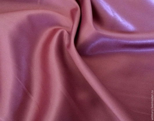 Аппликации, вставки, отделка ручной работы. Ярмарка Мастеров - ручная работа. Купить Атлас стейч плотный 1109 гр. розовый. Handmade.