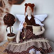 Куклы и игрушки ручной работы. Ярмарка Мастеров - ручная работа Кофейный ангел. Handmade.