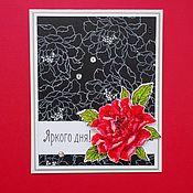 Материалы для творчества ручной работы. Ярмарка Мастеров - ручная работа Бумага черного цвета,  160 г. Handmade.
