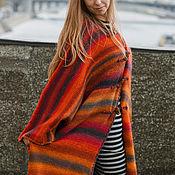 Одежда ручной работы. Ярмарка Мастеров - ручная работа Пальто вязаное. Handmade.