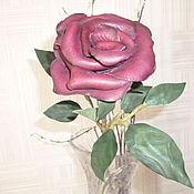 """Цветы и флористика ручной работы. Ярмарка Мастеров - ручная работа """"Подарок на кожаную свадьбу"""". Handmade."""