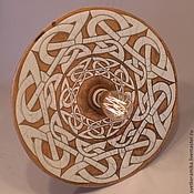 Для дома и интерьера handmade. Livemaster - original item Ceramic lamp hard suspension