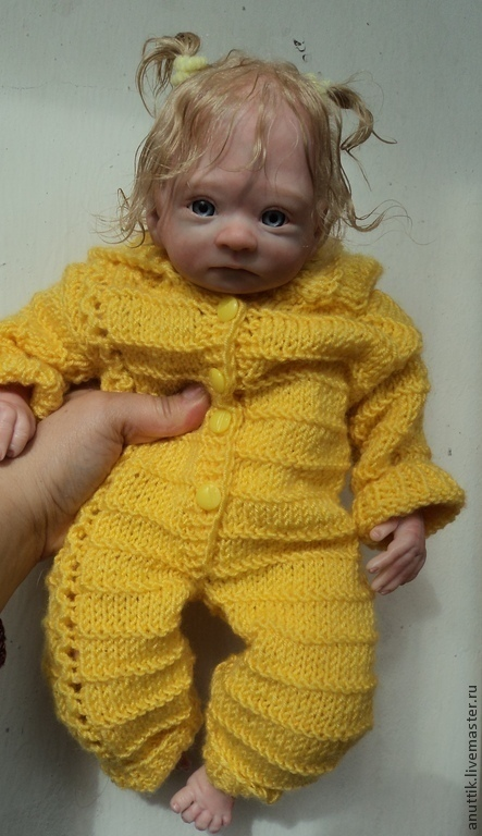 Куклы-младенцы и reborn ручной работы. Ярмарка Мастеров - ручная работа. Купить Ангелина. Handmade. Бежевый, подарок, гранулят стеклянный