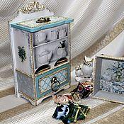 Домики ручной работы. Ярмарка Мастеров - ручная работа Чайный буфет, чайный домик Версаль. Handmade.