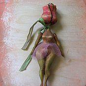 """Куклы и игрушки ручной работы. Ярмарка Мастеров - ручная работа """"Бутончик"""". Handmade."""