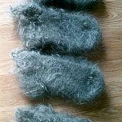 Аксессуары ручной работы. Ярмарка Мастеров - ручная работа Пуховые носки, следки, не пушоные. Handmade.