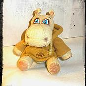 Куклы и игрушки ручной работы. Ярмарка Мастеров - ручная работа Бегемотик. Handmade.