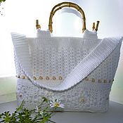 Сумки и аксессуары handmade. Livemaster - original item Bag summer Tenderness. Handmade.