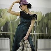 Одежда handmade. Livemaster - original item Handmade Felted dress Spring etude. Handmade.
